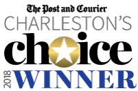 winner logo of Charleston Choice first place for pain relief management