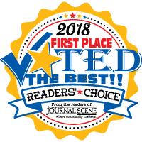 image of winner logo for readers choice pain relief management